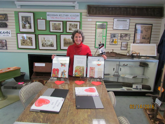 February 14, 2016 Open House, Gina Gregory shares 1930s Valentines.