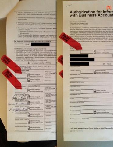 wells fargo consumer account application Wells Fargo Bank Fraud