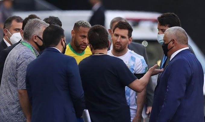 Anvisa paralisa jogo entre Brasil e Argentina; jogo é encerrado