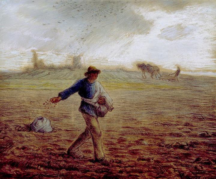 Jean-François Millet - The Sower