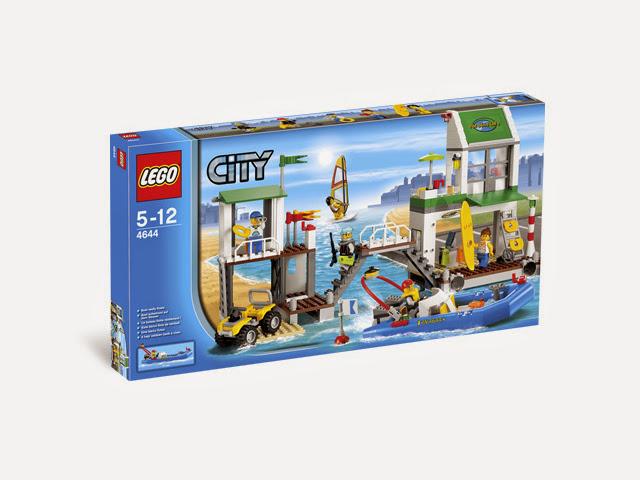 4644 レゴ ヨットハーバー