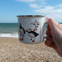 Puffin mug right by Alice Draws The Line