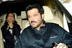Anil Kapoor and Sunita at SRK Edi Party 2013. pic/ yogen shah