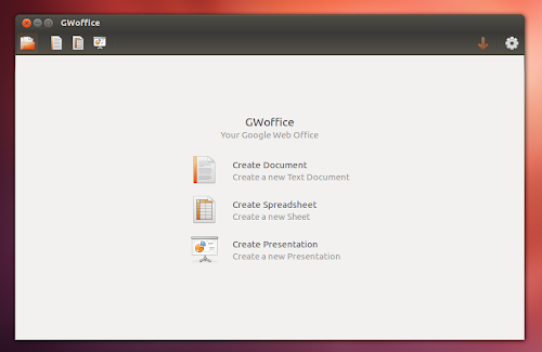 GWoffice su Ubuntu 12.04 - home