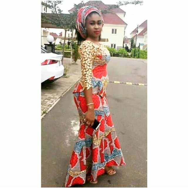 Nigerian Hausa Ankara Styles