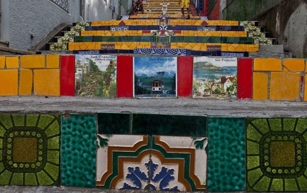 Veja a Escadaria Selaron do Rio de Janeiro
