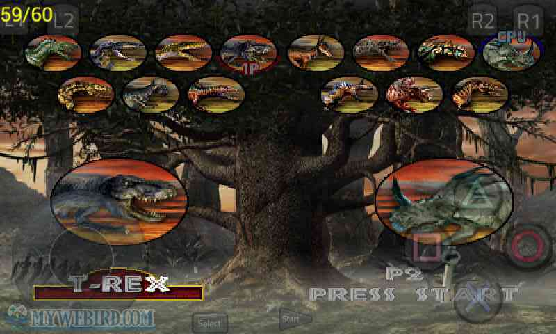 Warpath Jurassic Park PS1 Dinosaur
