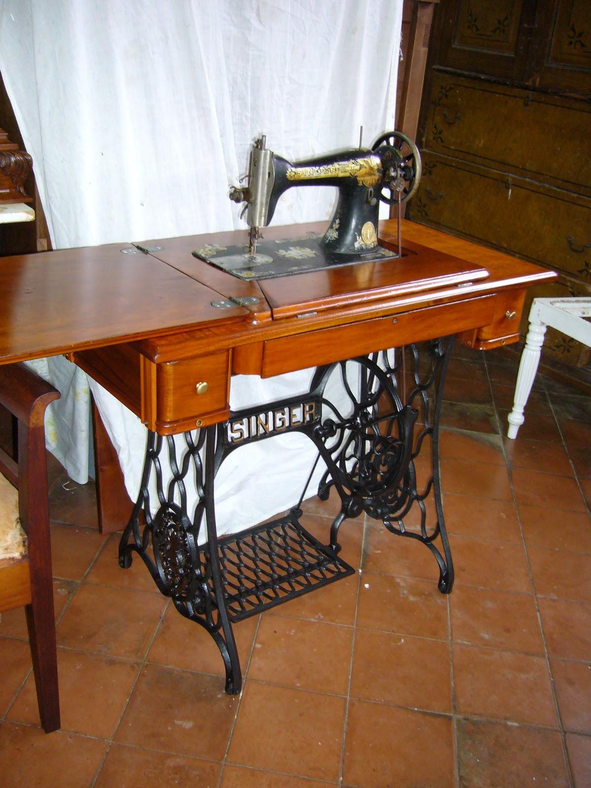 La restauradora m quina de coser restaurada - Maquinas de coser restauradas ...