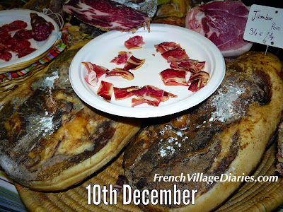 french village diaries advent calendar french food a to z jambon ham