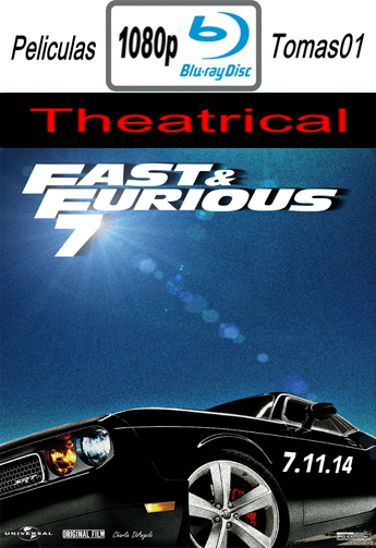 Fast & Furious 7 (A Todo Gas 7) (Theatrical) (2015) BDRip m1080p
