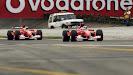 Rubens Barrichello & Michael Schumacher, Ferrari F2002