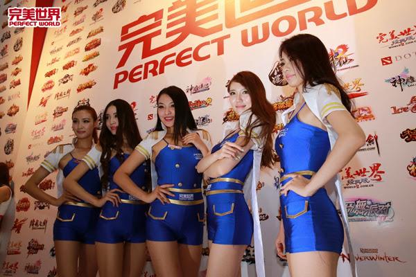 Ngắm dàn mỹ nữ của Perfect World tại ChinaJoy 2013 29