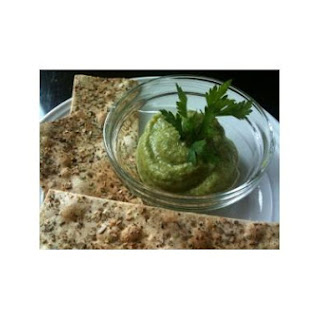 Spicy Green Baba Ganoush