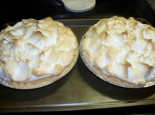 Bake the pie on the center oven rack for 10-12 minutes @ 350° until...