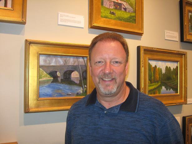 Artist Steve Easterwood
