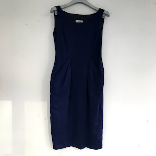 Moschino Midnight Blue Sleeveless Dress