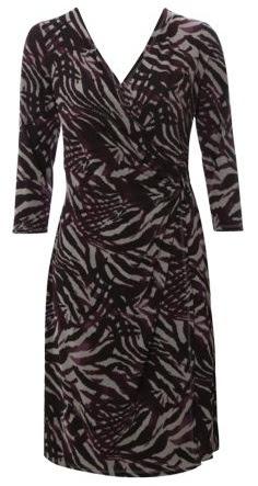 Matalan Print Wrap Dress