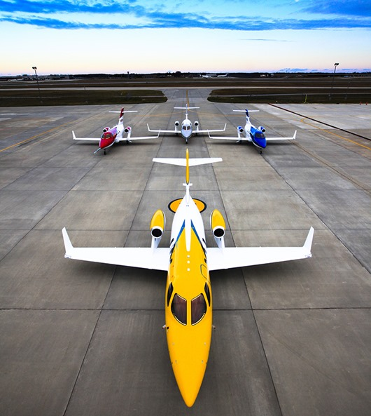 Colorful HondaJet Array