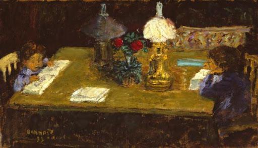 Pierre Bonnard (1867-1947) Interior: The Terrasse Children, 1899