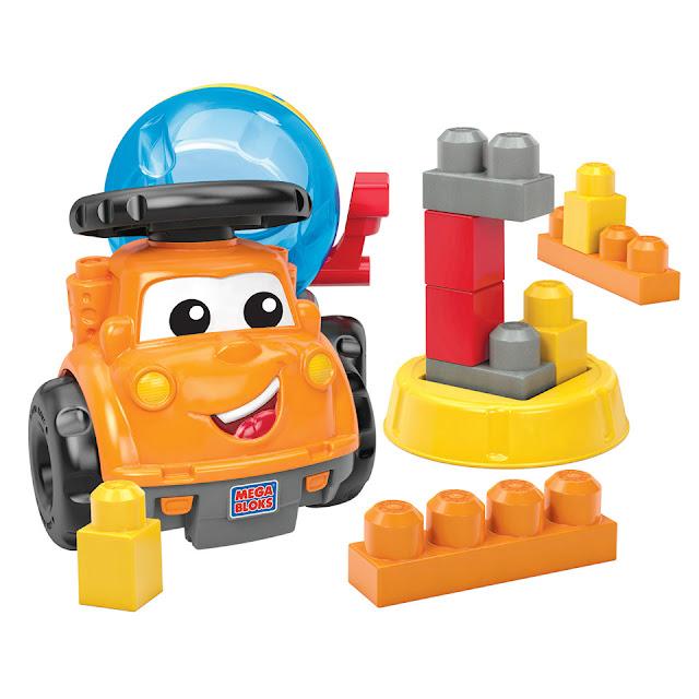 Xe đồ chơi trộn khối Mike The Mixer Mega Bloks