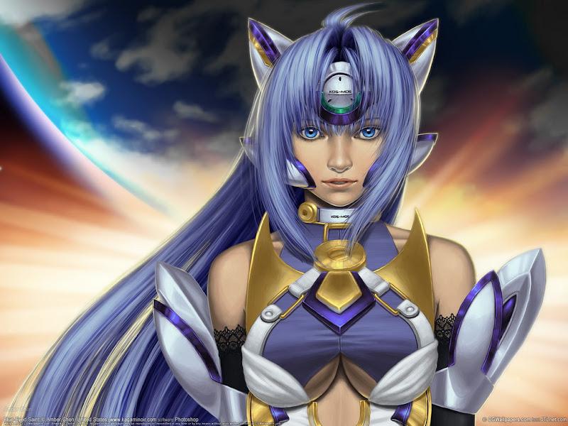Anime Girl Cat, Magic Beauties 2