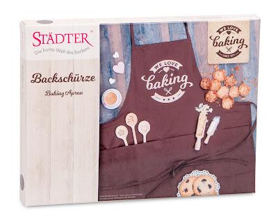 We love baking Backschürze der Firma Städter