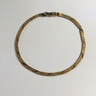 14K Tri-Color Gold Bracelet