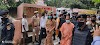 मुख्यमंत्री योगी आदित्यनाथ का बलिया सदर अस्पताल में आगमन