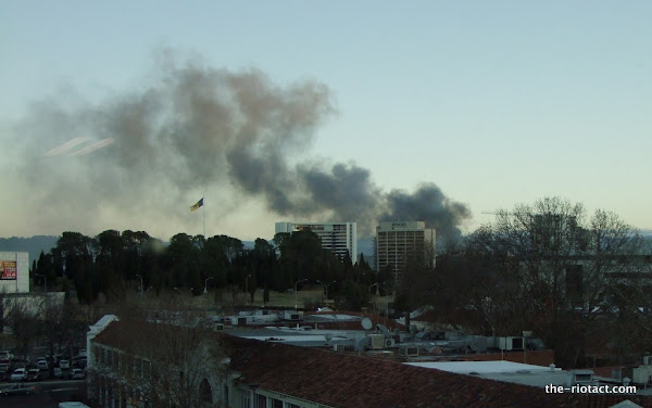 smoke over civic