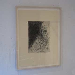 George Segal Signed Etching