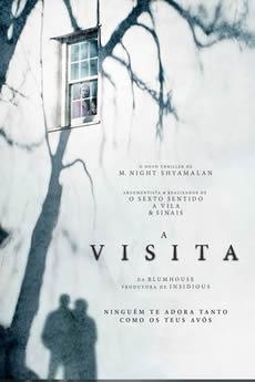 Capa A Visita (2015) Dublado Torrent