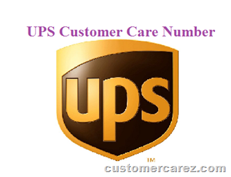 UPS Customer Care Number - Toll Free Number of UPS Courier