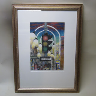 August Mosca Signed Lithograph