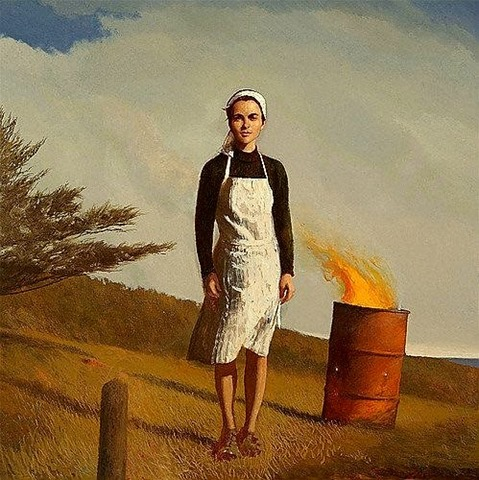 La carta. Bo Bartlett.