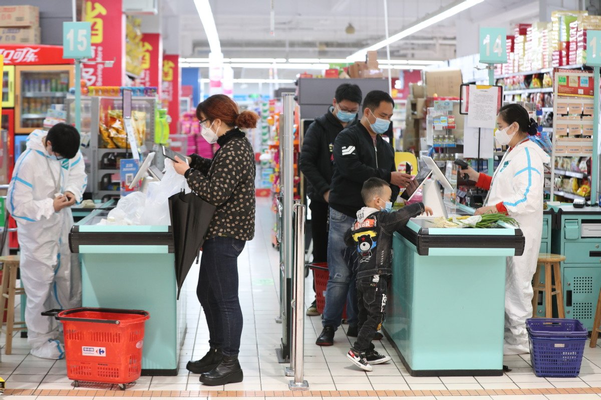Wuhan malls open as Chinese shop with government vouchers