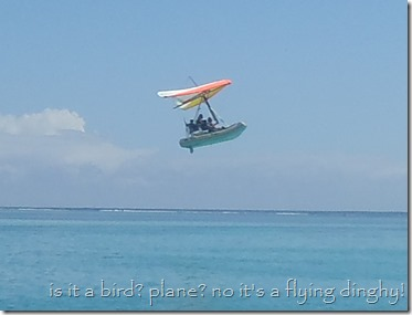 the flying dinghy