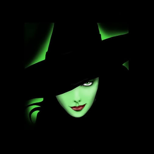 Green Witch In Hat, Green Witches