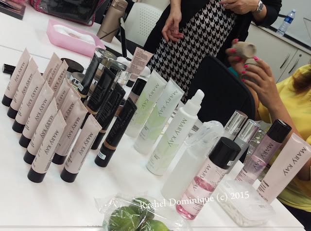 A Selection of Mary Kay Products