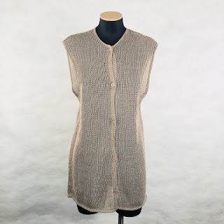 *SALE* Calvin Klein Collection Linen Tunic Vest