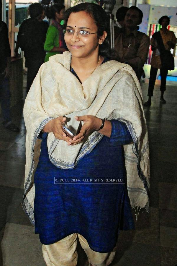 Deepa Nair during the International Documentary and Short Film Festival, held at Trivandrum.