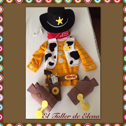 El Taller de Elena  Disfraz Woody Toy Story 8ff3e49f59e