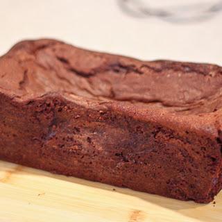 Milk Chocolate Chunk Chocolate Loaf Cake.