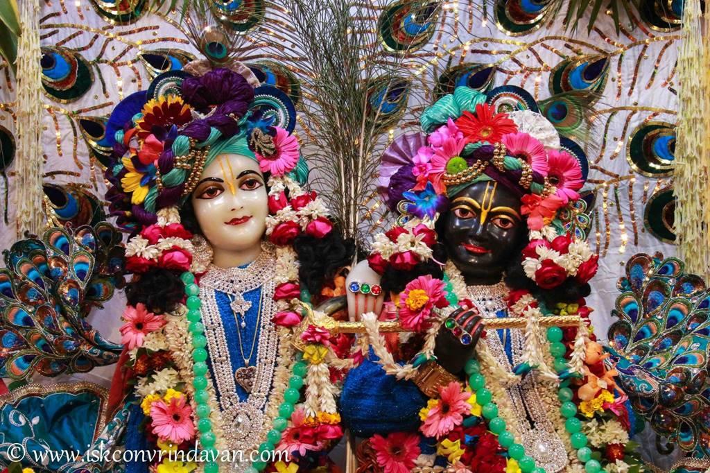 ISKCON Vrindavan Sringar Deity Darshan 25 Jan 2016 (10)