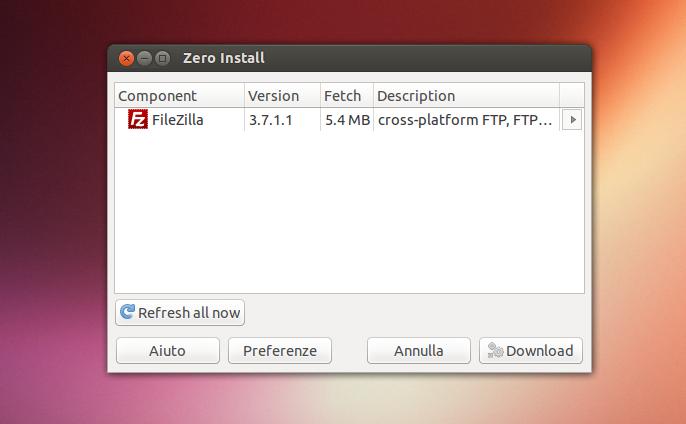 Zero Install - installazione app in Ubuntu Linux