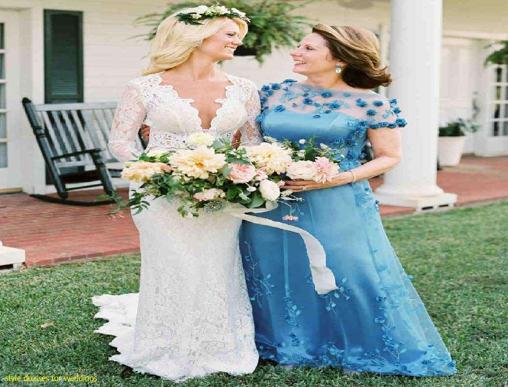 Simple Hippie Style Wedding Dresses