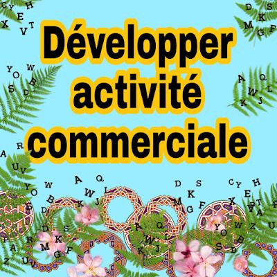 Comment créer et développer une activité commerciale avec le minimum de moyens (Ressources financières et humaines)