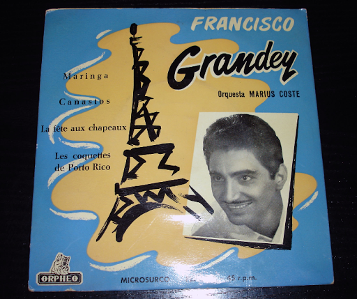 Francisco Grandey single años 60