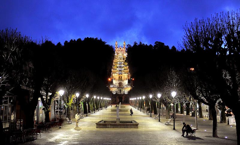Iluminação LED do Santuário dos Remédios ganha prémio em concurso internacional