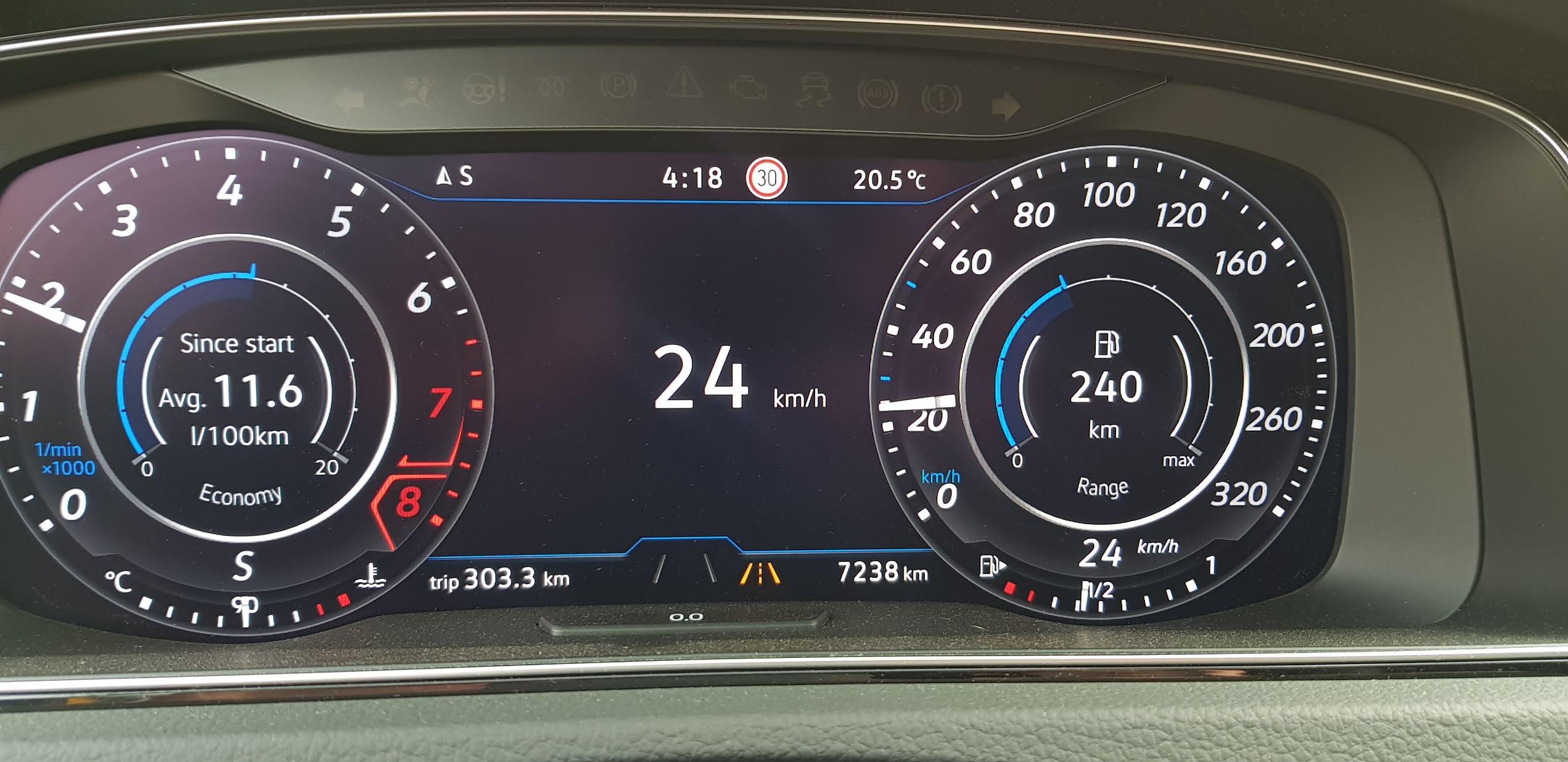 VWVortex com - Traffic Sign Assist works on 2018 R in NA
