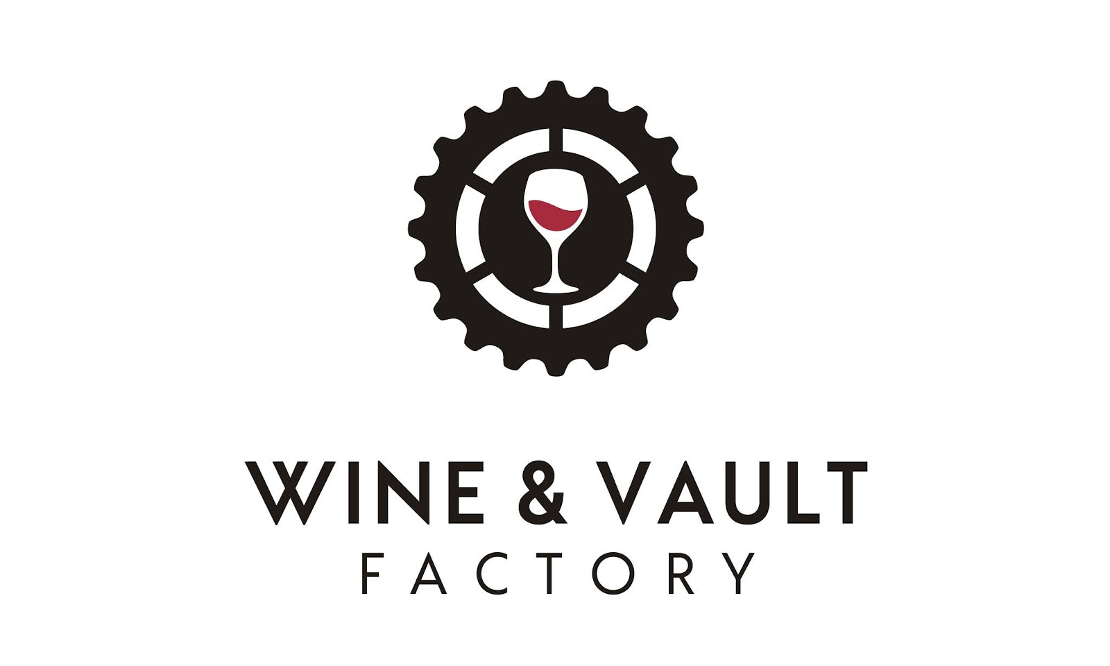Wine Vault Factory Logo Design Free Download Vector CDR, AI, EPS and PNG Formats